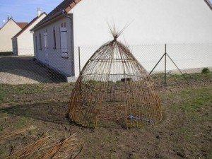 cabane en osier vivant etienne metezeau