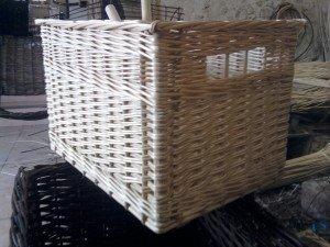 tiroir osier  blanc beige sur mesure Etienne Métézeau 37190